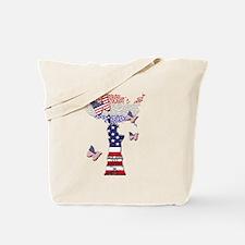 Cute Amercia Tote Bag