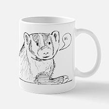 Badger Sketch Mug