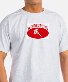 Windsurfing (red circle) T-Shirt