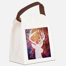 Funny Mixed media Canvas Lunch Bag