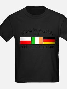 Polish, Irish German Parts T-Shirt