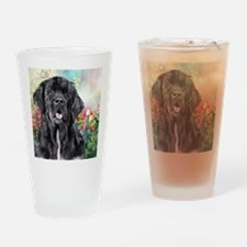 Newfoundland Painting Drinking Glass