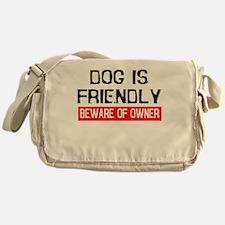 dog.png Messenger Bag
