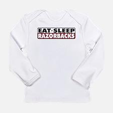 Eat Sleep Razorbacks Long Sleeve T-Shirt