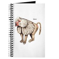 Baboon Monkey Ape Journal