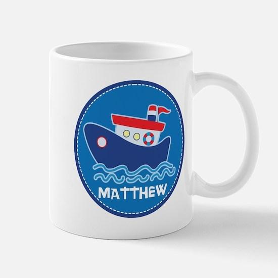 Tug Boat Personalized Boating Cute Mugs