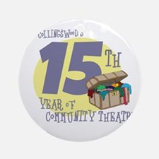 CCT 15th Anniversary Round Ornament