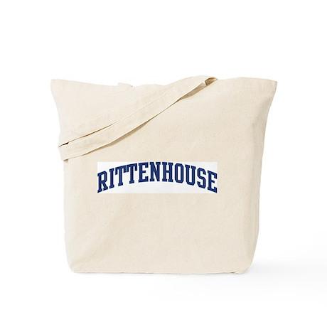 RITTENHOUSE design (blue) Tote Bag
