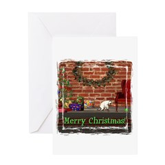 Christmas Morning Christmas Card