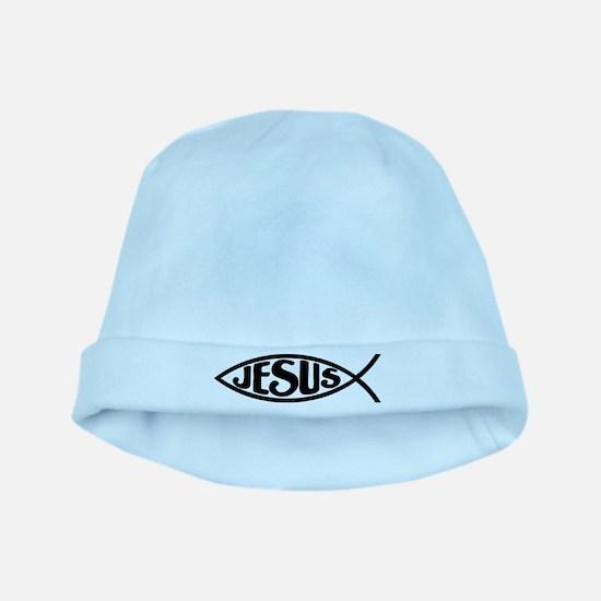 Jesus Fish Jesus baby hat