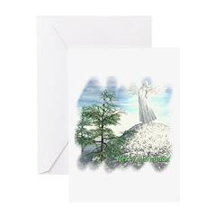 Angel Watch Christmas Card