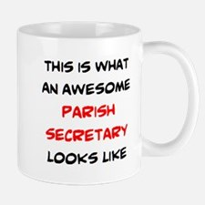 awesome parish secretary Mug
