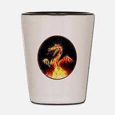 Cool Mythology Shot Glass
