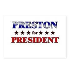 PRESTON for president Postcards (Package of 8)