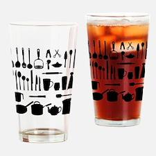 Cute Cookware Drinking Glass
