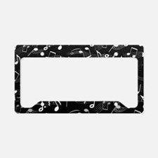 Cute Music License Plate Holder