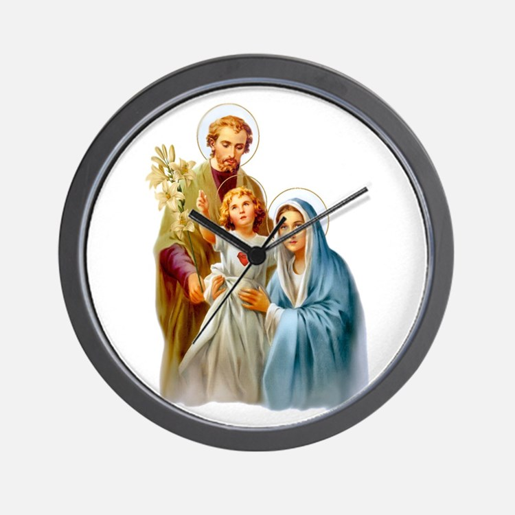 The Holy Family (Style 2) Wall Clock
