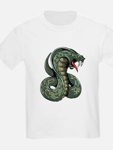 Striking Green Cobra T-Shirt