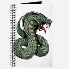 Striking Green Cobra Journal