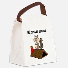 Funny Attic Canvas Lunch Bag