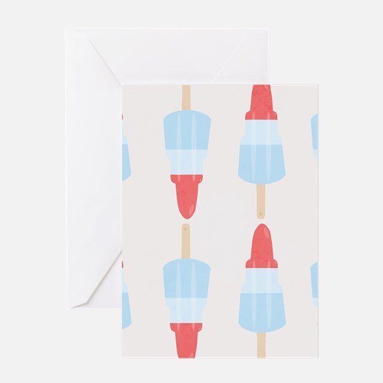 Rocket Lollies Greeting Cards