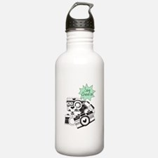 Vintage Cameras Say Ch Water Bottle