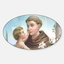 St. Anthony of Padua Decal