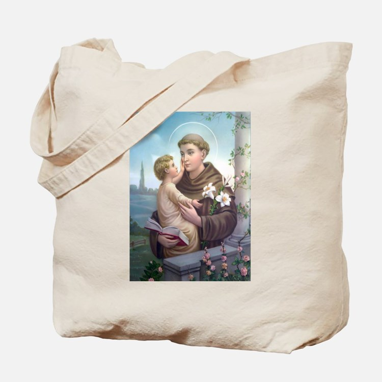 St. Anthony of Padua Tote Bag