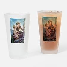 St. Anthony of Padua Drinking Glass