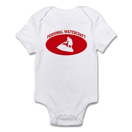 Personal Watercraft (red circ Infant Bodysuit