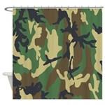 Camo Shower Curtain