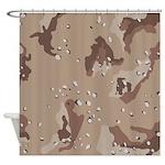 Desert Camo Shower Curtain