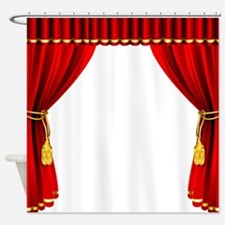 Movie Curtain Shower Curtain