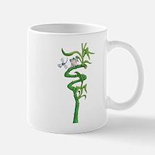 frog in bamboo Mugs