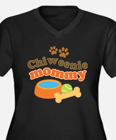 Chiweenie mom Plus Size T-Shirt