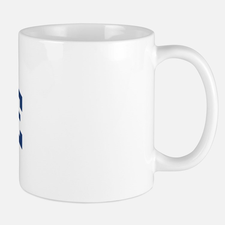 SAVILLE design (blue) Mug