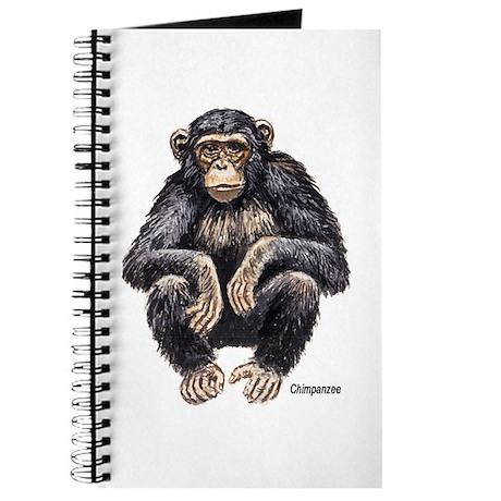 Chimpanzee Monkey Ape Journal