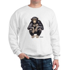 Chimpanzee Monkey Ape Sweatshirt