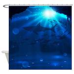 Shark Reef Shower Curtain