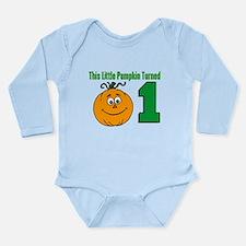 Little Pumpkin Turned One Body Suit