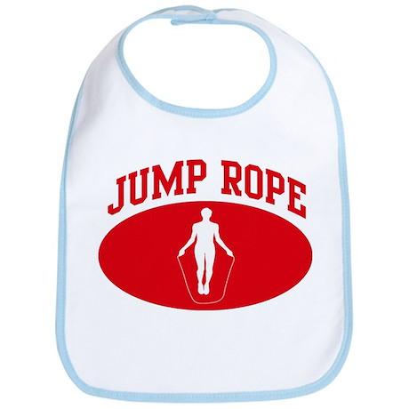 Jump Rope (red circle) Bib