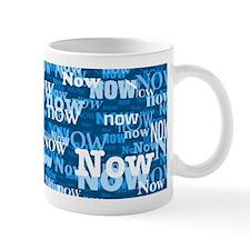 Mug - Now (blue)