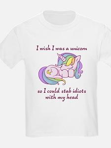 I wish I could be a unicorn T-Shirt