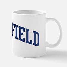 SATTERFIELD design (blue) Mug