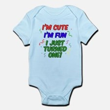 I Just Turned One Body Suit