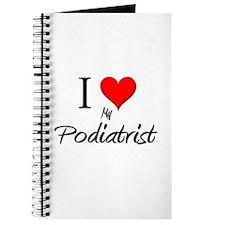 I Love My Podiatrist Journal
