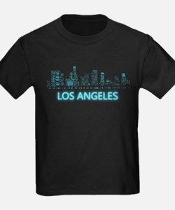 Digital Cityscape: Los Angeles, California T-Shirt