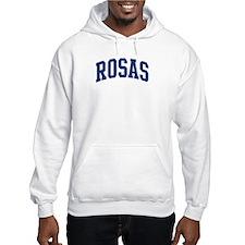 ROSAS design (blue) Hoodie