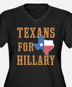 Texans for Hillary Plus Size T-Shirt