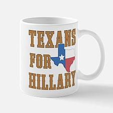 Texans for Hillary Mugs